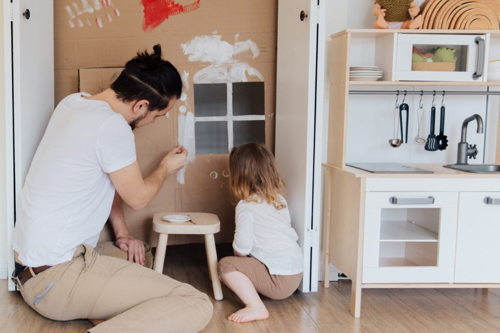 Quarantäne mit kleinen Kindern