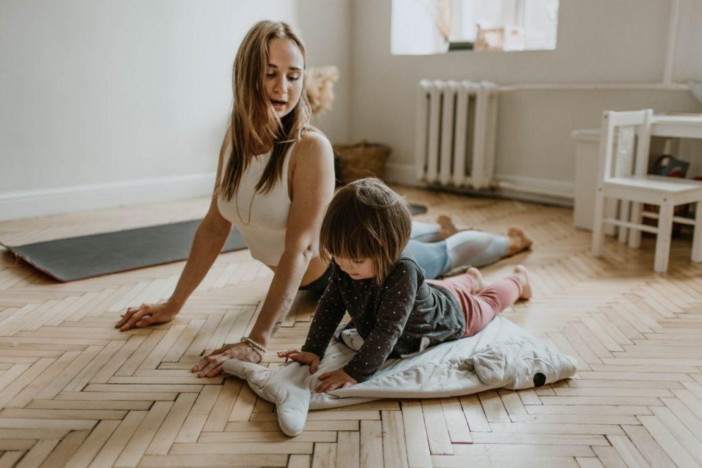 Bewegung für Kinder zu Hause