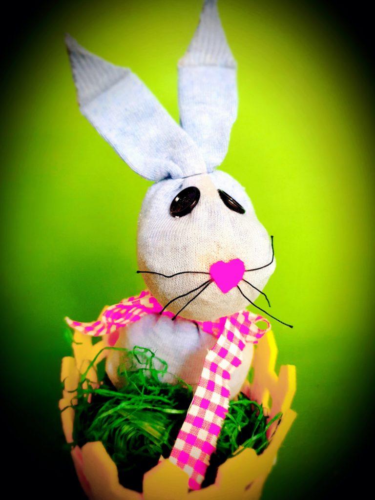 Basteln mit kleinen Kindern Ostern
